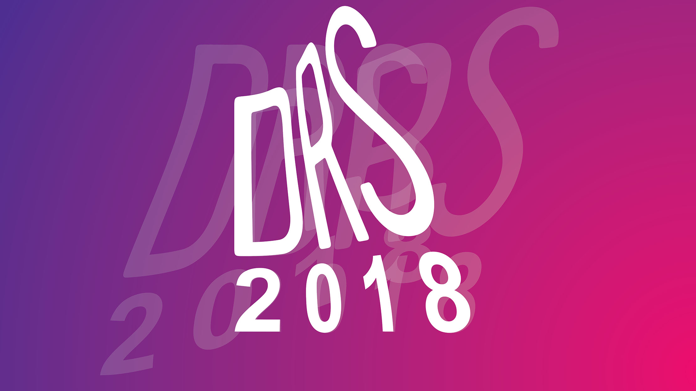 drs 2018 conference visual identity